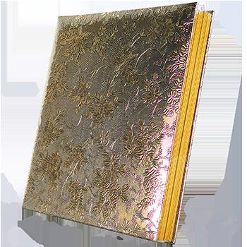50 листов Цветок золото