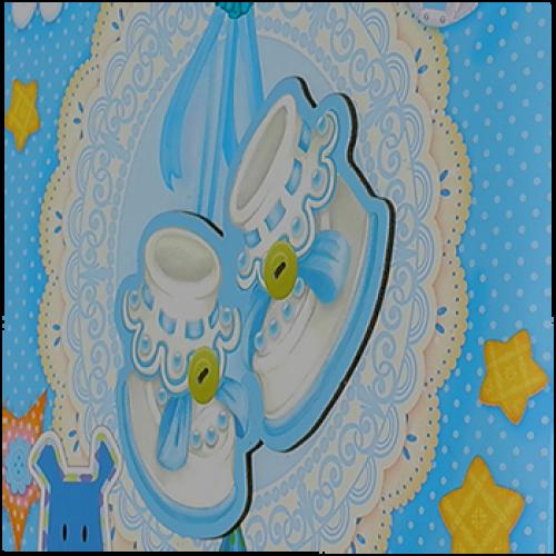 20 магнит Baby синий аппликация
