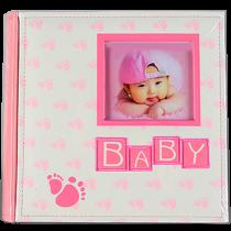 200 ф. Baby книжн. перепл. Розовый