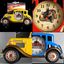 7699 Машинка Ретро - часы