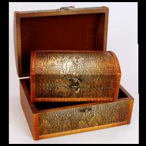 Набор деревянных шкатулок 405-199